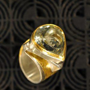 Goldschmiede karlsruhe unikatschmuck riegels-winsauer Amethyst Gold Ring