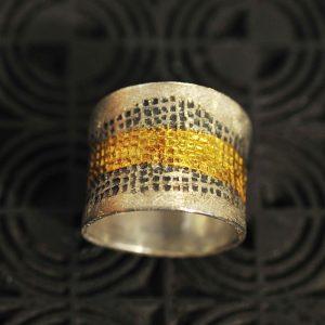 Goldschmiede karlsruhe unikatschmuck riegels-winsauer Ring Gold silber